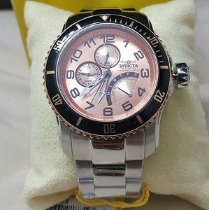 Big sale,Invicta RETROGRADE cabon watch.Firm